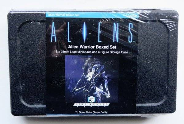 Leading Edge Aliens Alien Warrior Boxed Set Sealed 25mm 20300