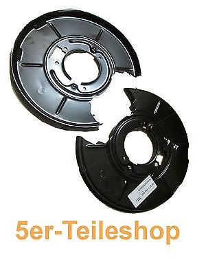 BMW Schutzblech für Bremse hinten 3er E36 E46 Original Set hi  li+re Ankerblech