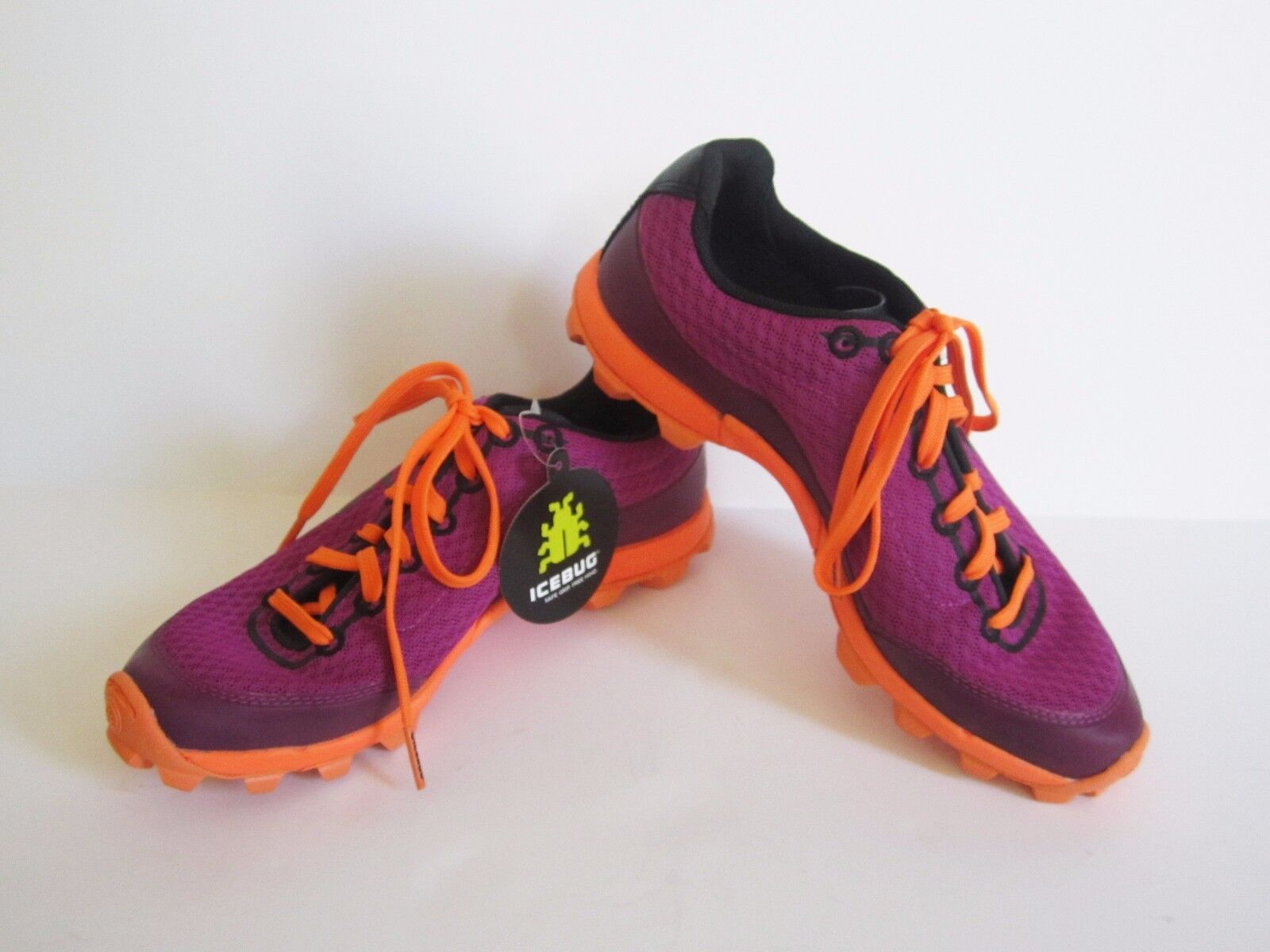 Icebug Womens Acceleritas5 W RB9X Magenta Neon orange Running shoes 5.5 New  TL