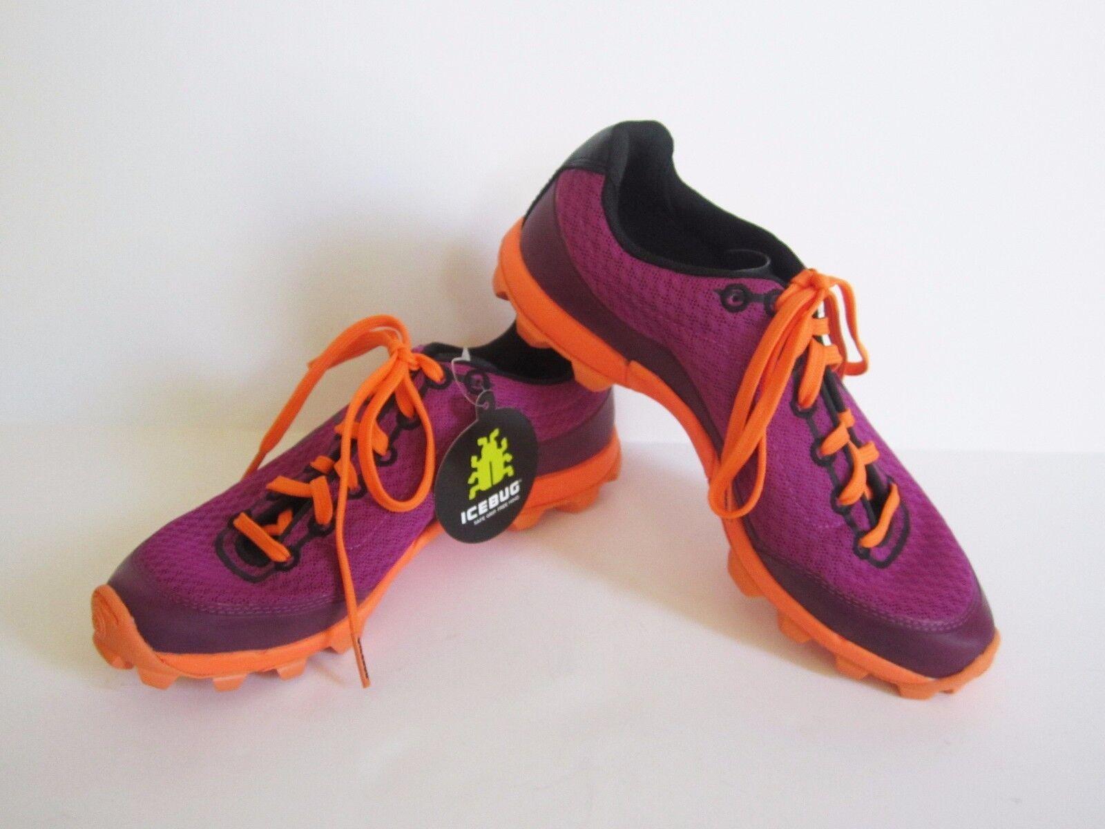 Icebug Womens Acceleritas5 W RB9X Magenta Neon orange Running shoes 5.5 New  TL