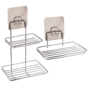 Image Is Loading Bathroom Shower Soap Dish Holder Stainless Steel Wall