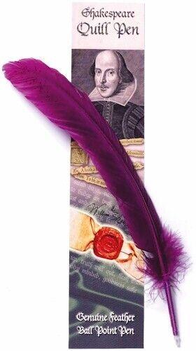 William Shakespeare Quill Pen