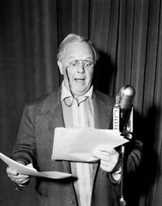 OLD-CBS-RADIO-PHOTO-Charles-Winninger-On-The-Drama-My-Love-Came-Back