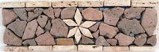 Rosone rosoni mosaici in marmo  greca ART 105/3 IN MARMO CM 30X10