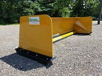 7' Low Pro snow pusher box FREE SHIPPING skid steer Bobcat Case Caterpillar