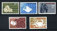 NEDERLAND 877/881 MNH** 1967 - Zomerzegels, schelpen en zeedieren