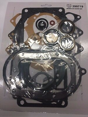 GASKET SET WITH SEALS FITS BRIGGS AND STRATTON 320400 300432 CAST IRON ENGINES