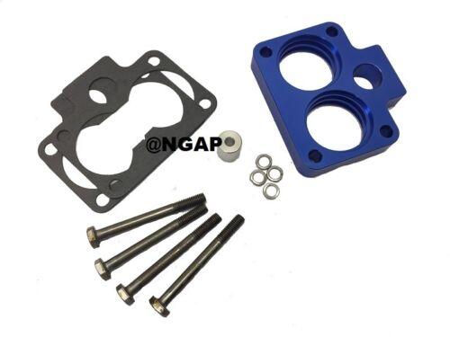 Blue Throttle Body Spacer for 94-03 Dodge RAM 1500 2500 3500 3.9L 5.2L 5.9L