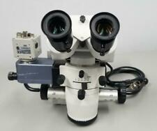 Leica M655 Surgical Microscope Head With Hitachi Ccd Color Camera Kp D20bu