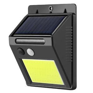 1X-48Led-Luz-Solar-de-Montaje-en-Pared-de-Sensor-de-Movimiento-Lampara-de-J-1I8