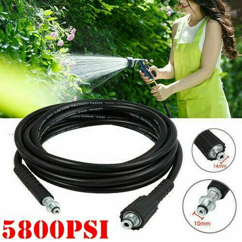 For Karcher K2 Hose Rubber Pressure Washer Replacement Cleaning Hose Pipe Tube