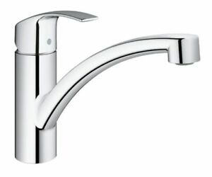 miscelatore rubinetto cucina GROHE EUROSMART NEW | 33281002 | 33281 ...