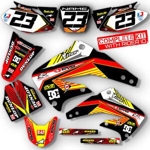 2003 2012 honda cr 85 dirt bike graphics kit cr85 motocross mx decals deco ebay