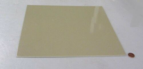 "Garolite Micarta Phenolic TAN G10FR4 Sheet  .063/"" x 12/"" x 12/"""