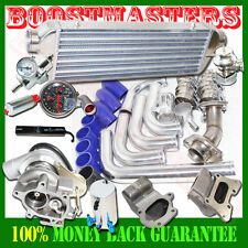 TB25 Bolt on Turbo+Downpipe+Manifold Kits for 06-11 Honda Civic R18 DX EX 300hp