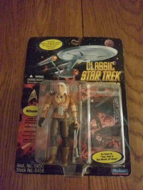 Star Trek Khan Action Figure Playmates Star Trek Wrath Of Khan