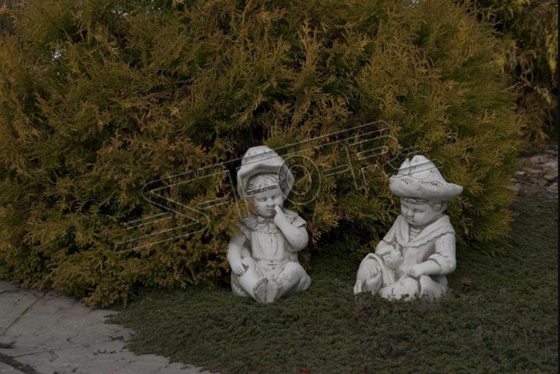 Kind Büste Skulptur Design Figur Statue Garten Figuren Statuen Skulpturen 101034