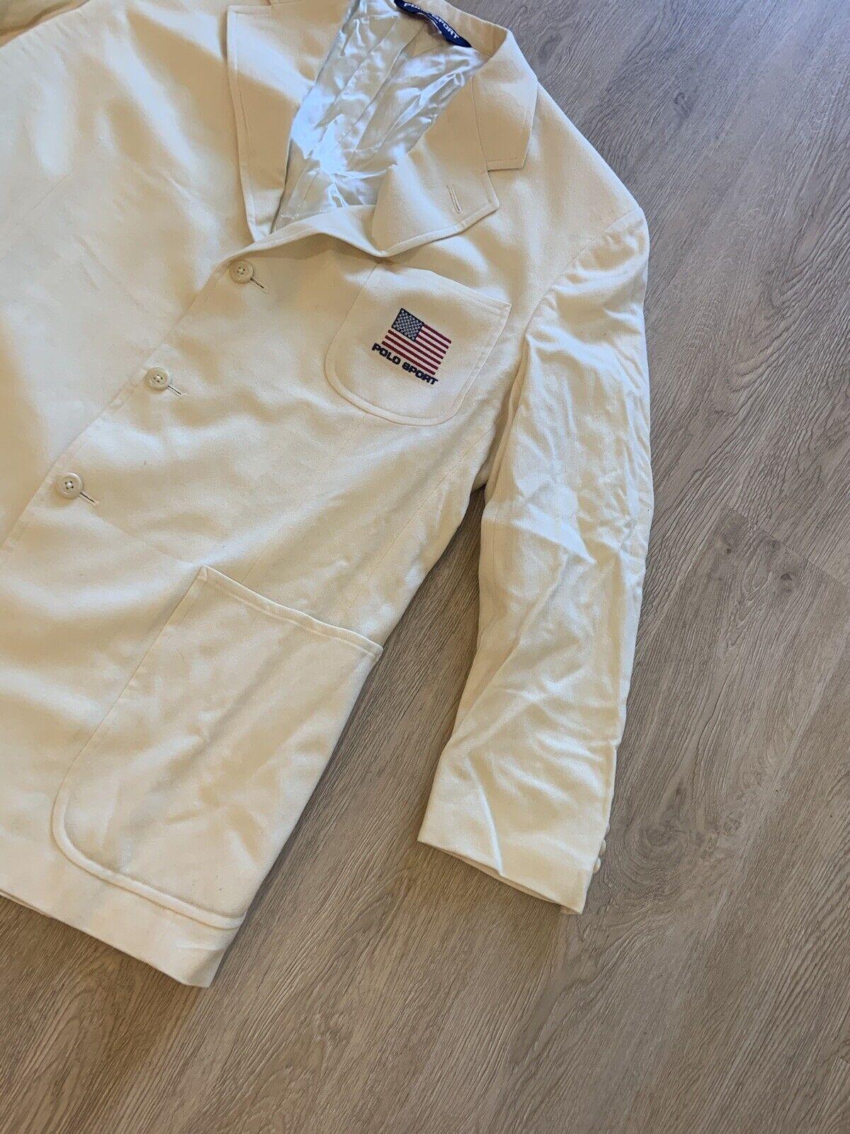 Vintage Polo Sport Sport Jacket - image 5