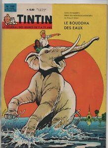 Giornale-Tintin-N-769-18-Juillet-1963-Splendido-Condizioni-Completo