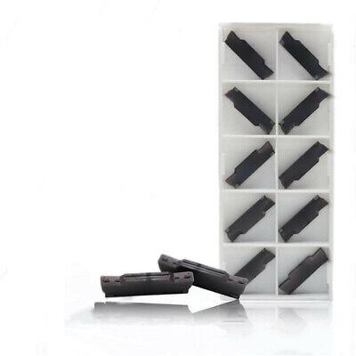 10PCS DESKAR MGMN400-M LDA Carbide Milling Inserts  Replace PC3090