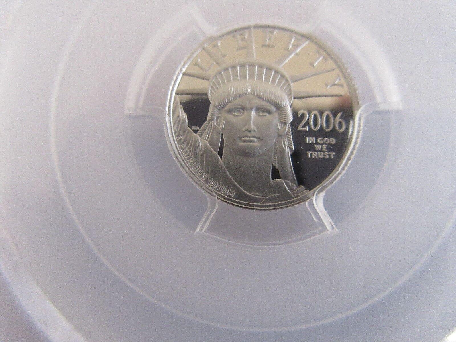 2006-W , Statue of Liberty , Platinum $10 , PCGS , PR70