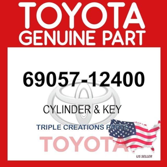 IGNITION SWITCH LOCK 6905712400 Genuine Toyota CYLINDER /& KEY SET