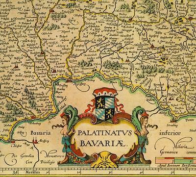 2019 Neuer Stil Hist. Landkarte Bayern, Cham, Beilngries, Straubing, Neuburg A. D. Donau 1658 Kunden Zuerst