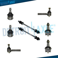 8pc Ball Joints Outer Tierod Sway Bars Kit 1998 2009 2010 2011 Ford Ranger Rwd Fits Ford Ranger