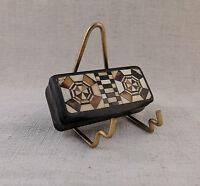 Ancienne et luxueuse boite NAPOLEON III Décor géométrique XIXème