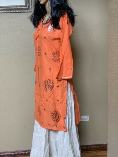 Indian Women long Kurta Kurti latest Designer Bollywood Dress pick your size