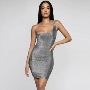2019 sexy Abendkleid Minikleid Kleid kurz Glitzer One ...