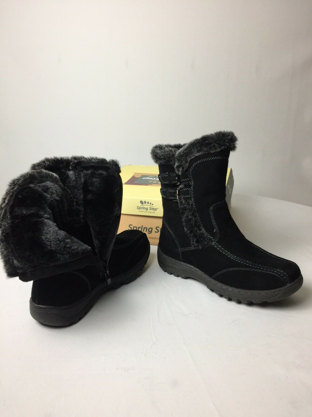 Spring Step New damen's Comfortable Comfortable Comfortable Stiefel Größe 6.5 With Box fd7bec