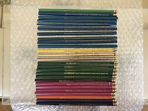 NEW-Lot-of-26-Vintage-Eagle-CHEMI-SEALED-Verithin-Drafting-Pencils