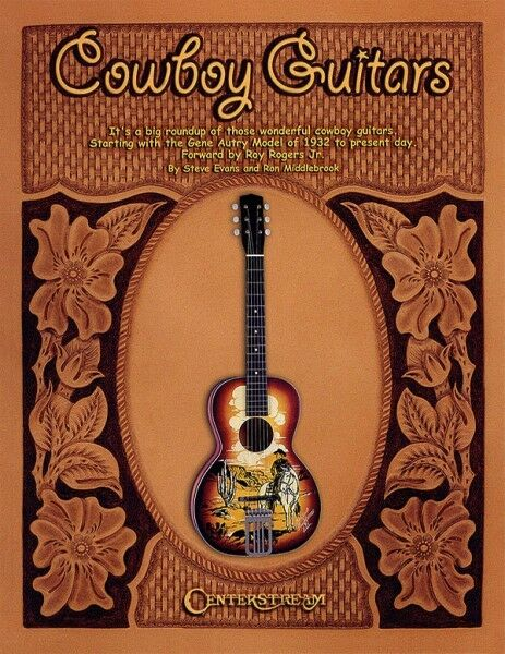 Cowboy Guitars Music History Photos Reference Guitar Collector Guide Book