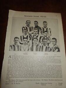 1931-32-Newcastle-United-Football-club-FA-Cup-winners