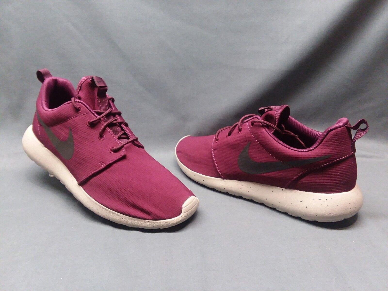 Privación desarrollando Campo  Nike Men's Roshe One SE Running Sneakers Mesh Bordeaux Pale Grey Size 13  NEW! for sale online