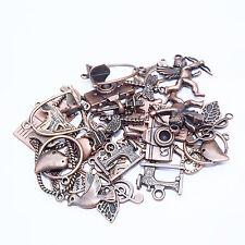 25g (20+) Antique Copper Pendants Charms Random Mix Jewellery Making