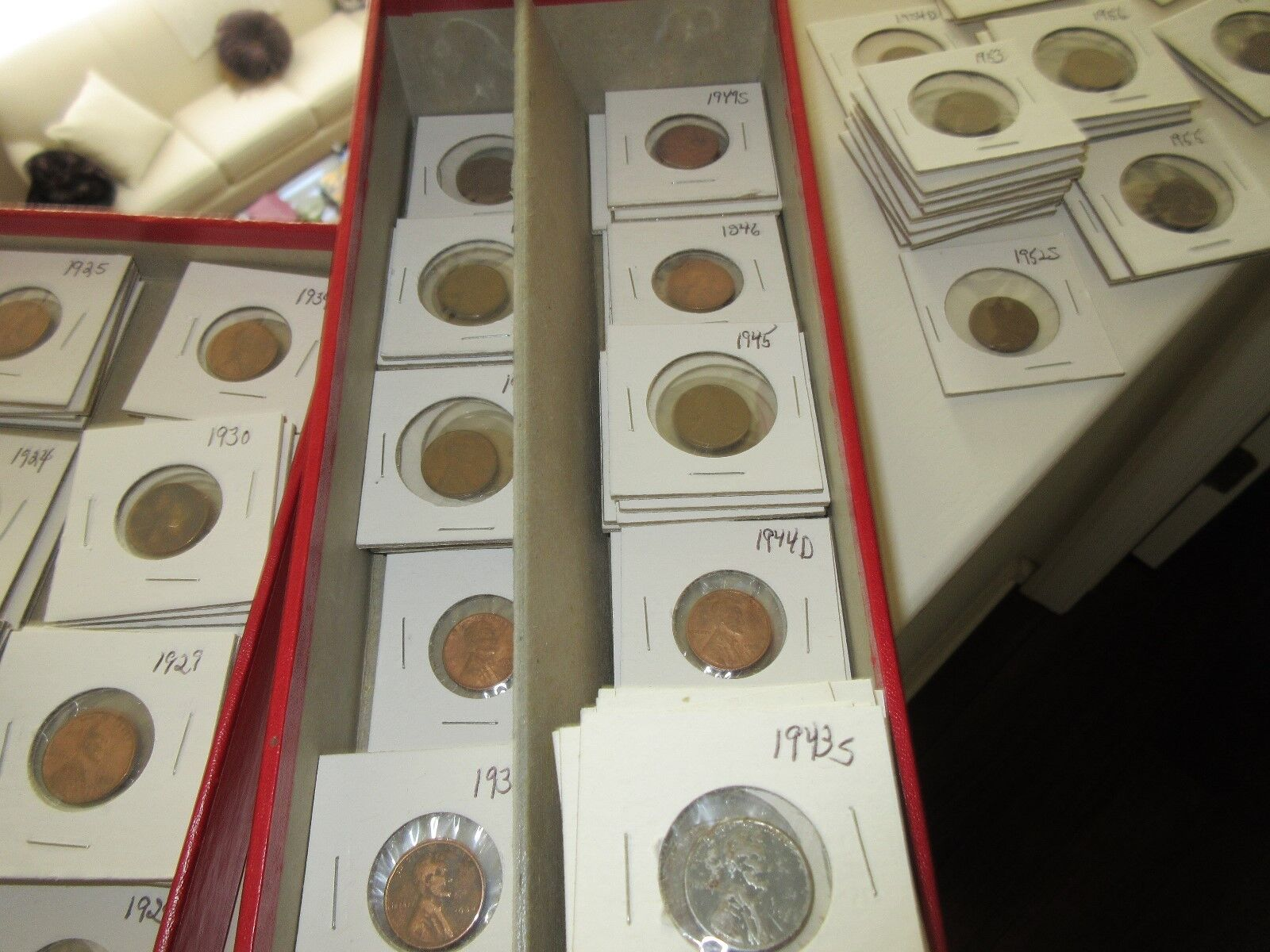 Lincoln Wheat Penny Collection ,Mixed Lot , Dates , Min