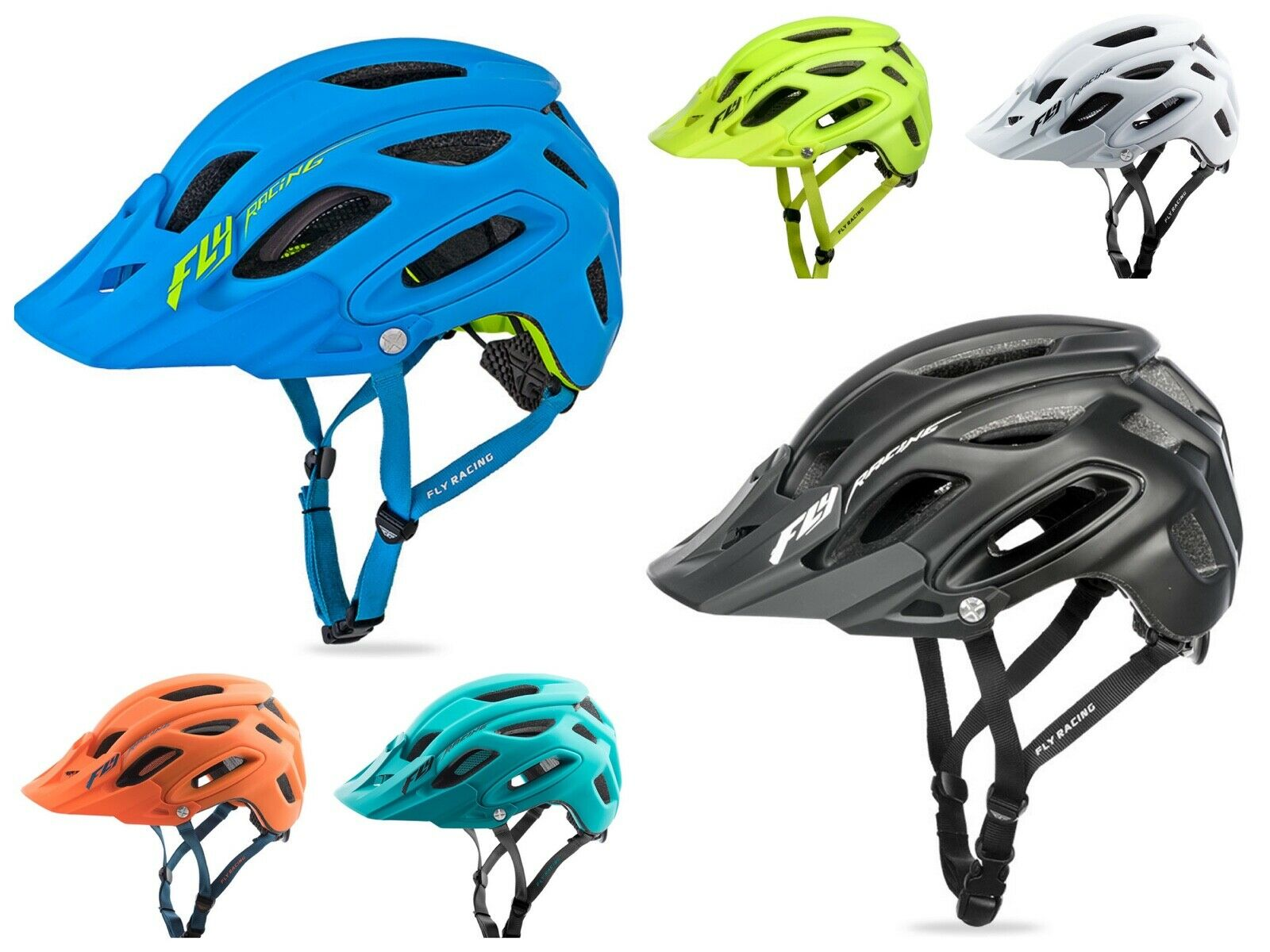 Fly Racing abridor MTB Casco Mate