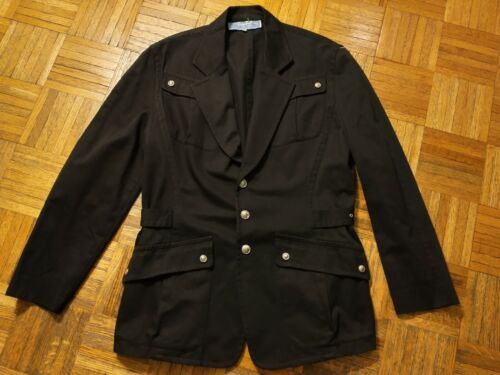 Thierry Mugler military jacket, made in France
