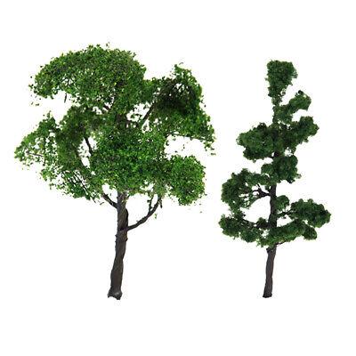4.72 Inch Model Tree Mountain Pine Green Scenery Landscape