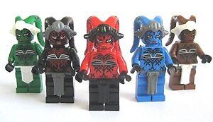 Custom TWI'LEK ASSASSIN Minfig Arealight w/Lego Parts! -Pick Style!- Darth Talon