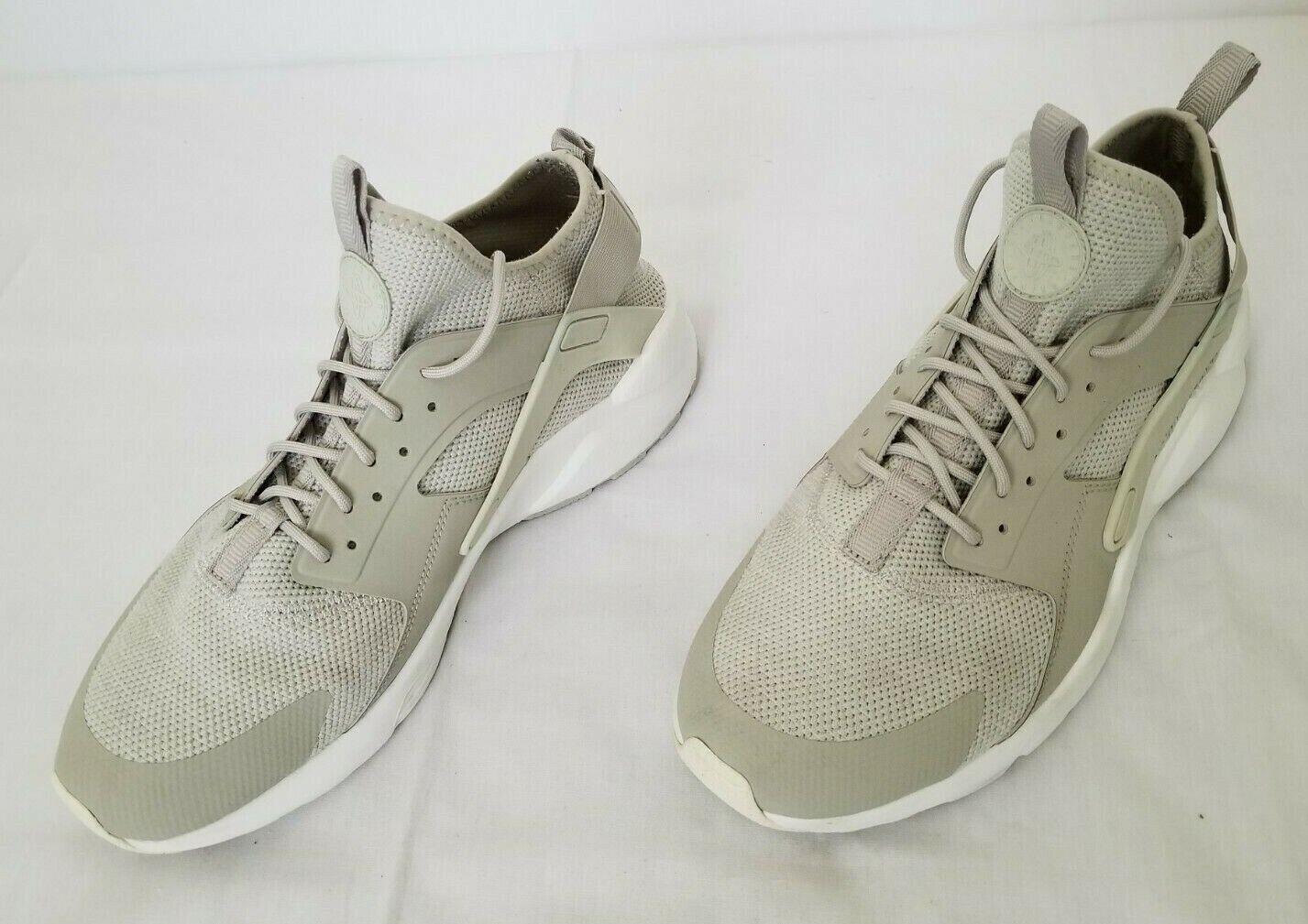 Escribe un reporte Serafín fumar  Mens Size 12 Grey Nike Air Huarache Run Ultra Breathe Shoes 833147-002  preowned for sale online