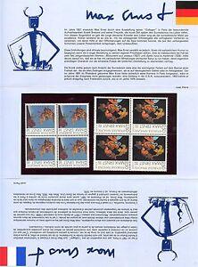 Emission Commune France Allemagne 1976 Max Ernst Avec Une RéPutation De Longue Date