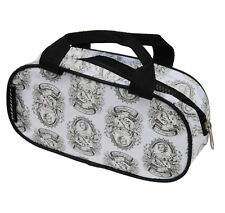 MARILYN MONROE NO REGRETS TATTOO ZIP UP MAKE UP BAG TOILETRY BAG PENCIL CASE
