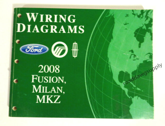 2008 Ford Fusion Milan Mkz Electrical Wiring Diagrams
