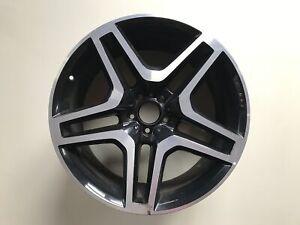 1x-Alufelge-21-Zoll-10x21-ET46-A1664012502-Mercedes-W166-X166-63-AMG