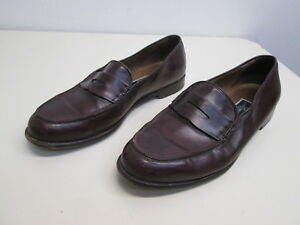 789946c7f9d Image is loading EUC-Cole-Haan-Bragano-Loafers-penny-Burgundy-Leather-