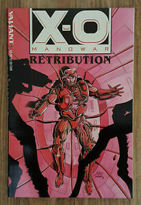 X-O Manowar Retribution TPB (Valiant Comics, 1993) NM / Unread