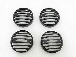 New-Brand-Royal-Enfield-Classic-Set-Of-4-Front-Rear-Indicator-Grill-Black